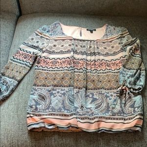 Blouse 3/4 Sleeve Like New Worn Once